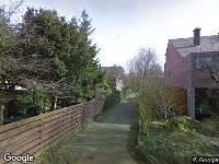 112 melding Politie naar Tafelberg in Dordrecht vanwege ongeval met letsel