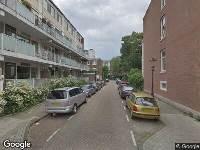 Ambulance naar Burmandwarsstraat in Amsterdam