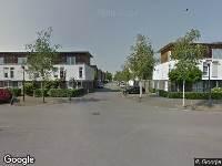 112 melding Politie naar Zandschuit in Eindhoven vanwege ongeval met letsel