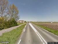 Brandweer naar Langeweg in Oud-Beijerland vanwege brand