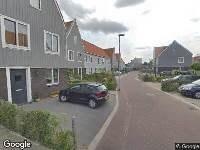 Ambulance naar Oossaander Hoop in Amsterdam