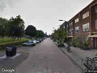 112 melding Ambulance naar Godfried van Bouillonstraat in Haarlem
