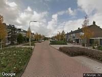 112 melding Ambulance naar Reinier de Graafstraat in Schoonhoven