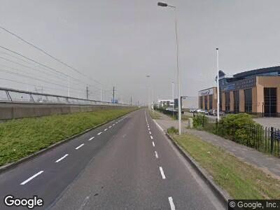 Politie naar Driemanssteeweg in Rotterdam