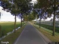 112 melding Brandweer naar Delwijnsestraat in Delwijnen