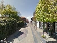 Ambulance naar Kerkstraat in Numansdorp