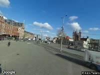 112 melding Traumahelikopter naar Stationsplein in Amsterdam