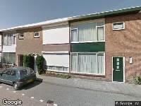 112 melding Ambulance naar Findelstraat in Tilburg