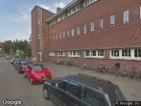 112 melding Ambulance naar Herschelstraat in Amsterdam