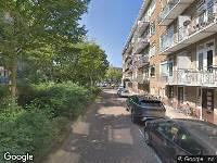 112 melding Ambulance naar Gloriantstraat in Amsterdam