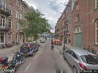 112 melding Ambulance naar Gijsbrecht van Aemstelstraat in Amsterdam