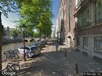 112 melding Ambulance naar Keizersgracht in Amsterdam