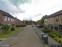 112 melding Ambulance naar Hoofstraat in Terhole