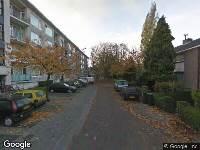 Ambulance naar Van Aerssenstraat in Dordrecht