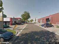 Ambulance naar Protonweg in Hoorn vanwege verkeersongeval