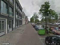 112 melding Brandweer naar Oostergrachtswal in Leeuwarden