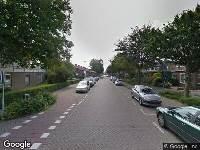 112 melding Besteld ambulance vervoer naar Julianalaan in Bergschenhoek