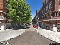112 melding Brandweer naar Legmeerstraat in Amsterdam
