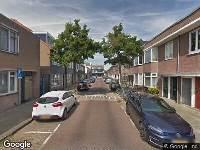 112 melding Ambulance en brandweer naar Pieter Maritzstraat in Haarlem vanwege brand