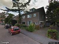 Brandweer naar Rembrandt van Rijnstraat in Weesp
