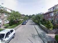 Brandweer naar Zomerstraat in Amsterdam