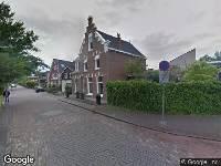 112 melding Besteld ambulance vervoer naar Weegje in 's-Gravendeel