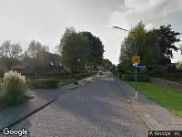 112 melding Ambulance naar Vincent van Goghlaan in Oosterhout