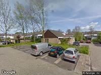 Brandweer naar Groen v Prinstererstraat in Papendrecht vanwege brand