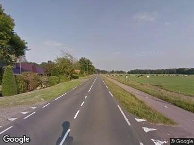 Politie naar Geesterenseweg in Vriezenveen vanwege aanrijding met letsel
