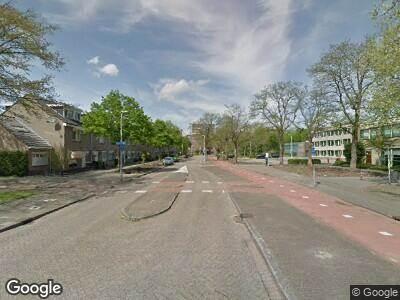 Ambulance met gepaste spoed naar Alexandriëstraat in Rotterdam