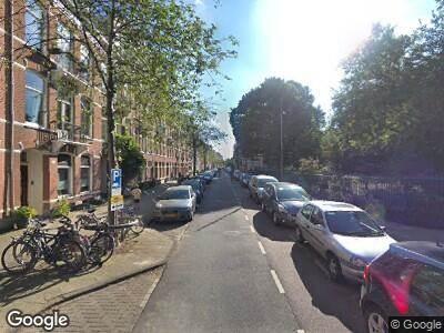 Brandweer met grote spoed naar Eerste Helmersstraat in Amsterdam vanwege brand