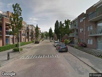 Ambulance met gepaste spoed naar Molenstraat in Lisse