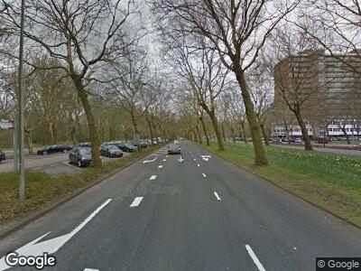 Ambulance met grote spoed naar Europaboulevard in Amsterdam