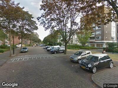 Brandweer met gepaste spoed naar Minister Aalberselaan in Rijswijk