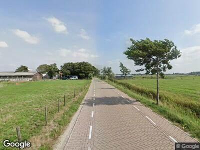 Ambulance met gepaste spoed naar Rijnsburgerweg in Voorhout