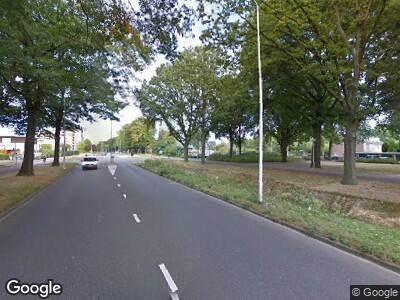 Ambulance met gepaste spoed naar Oude Bossche Baan in Eindhoven