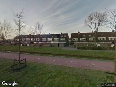 Ambulance met gepaste spoed naar Plesmanweg in Beverwijk