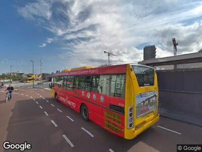 Ambulance naar Tramplein in Purmerend vanwege verkeersongeval