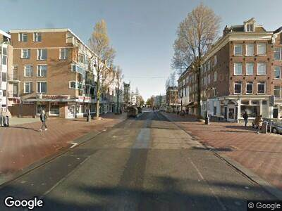 Brandweer met grote spoed naar Wagenaarstraat in Amsterdam vanwege brand