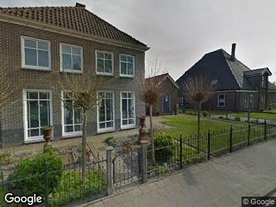 Ambulance met gepaste spoed naar Dr. Nuijensstraat in Westwoud