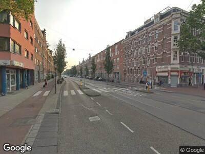 Politie met grote spoed naar Wijttenbachstraat in Amsterdam vanwege ongeval met letsel
