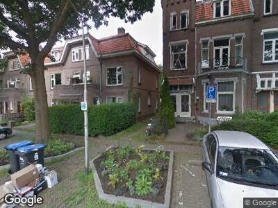 Ambulance met gepaste spoed naar Rembrandtstraat in Nijmegen