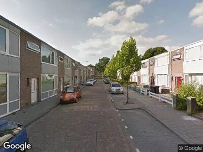 Ambulance met grote spoed naar Marchantstraat in Tilburg