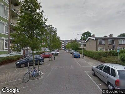 Ambulance met grote spoed naar Dalveen in 's-Gravenhage