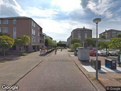 Ambulance met grote spoed naar Zamenhof in Heemskerk