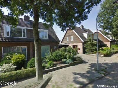 Brandweer en politie met grote spoed naar Jan Steenlaan in Oosterhout