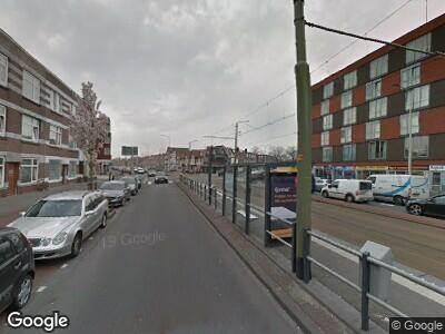 Brandweer met grote spoed naar Rijswijkseweg in 's-Gravenhage vanwege afgaan rookmelder