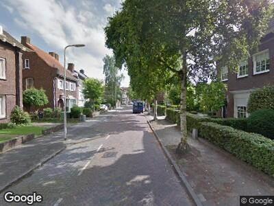 Ambulance naar Dokter Lemmensstraat in Roosendaal