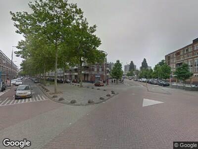 Traumahelikopter met grote spoed naar Oranjeboomstraat in Rotterdam