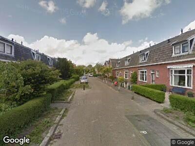 Brandweer met grote spoed naar Auke Stellingwerfstraat in Leeuwarden vanwege brand